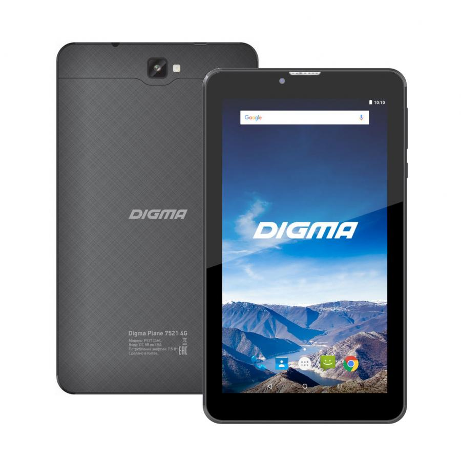 Планшет Digma Plane 7521  дюймов 16Gb LTE Black