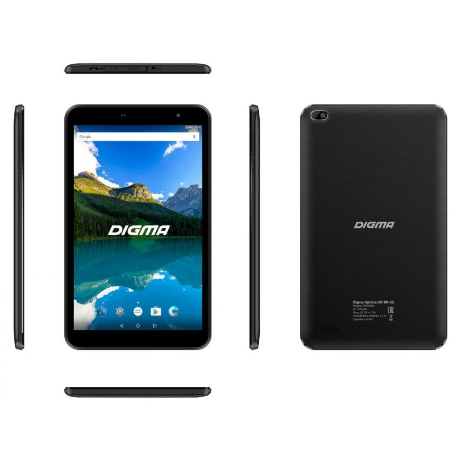 Планшет Digma Optima 8019N 4G Black (TS8182ML)