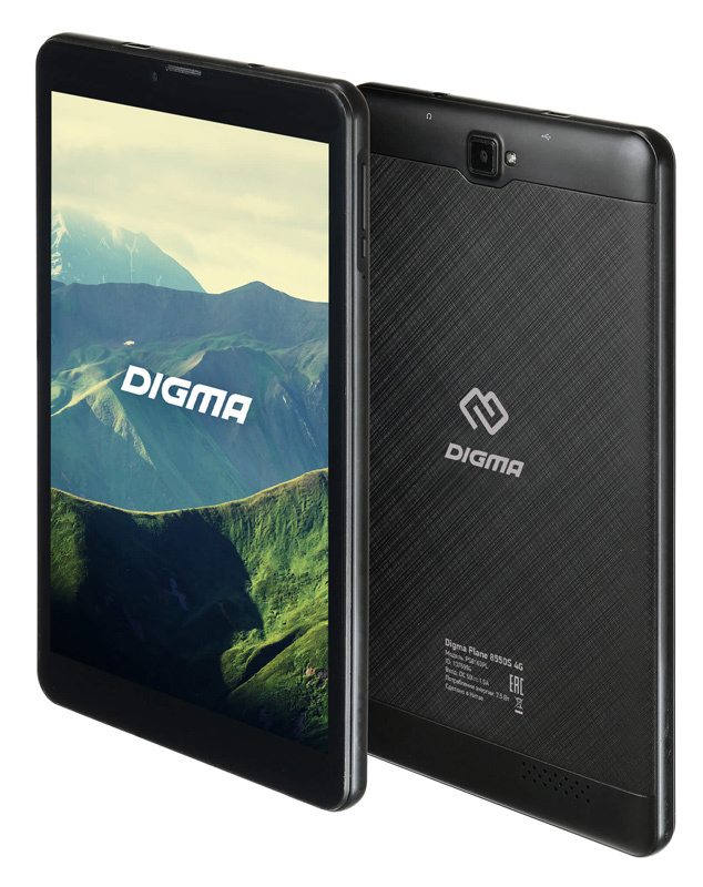 Планшет DIGMA PLANE 8550S 8Gb 4G GRAPHITE (PS8163PL) компьютер