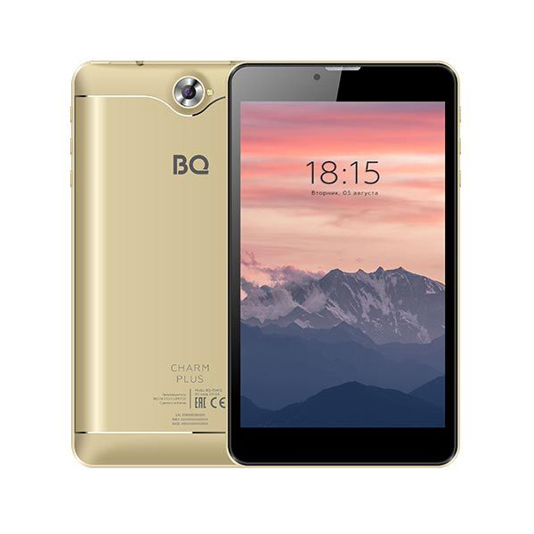 Планшет BQ 7040G Charm Plus 16Gb 3G GOLD компьютер