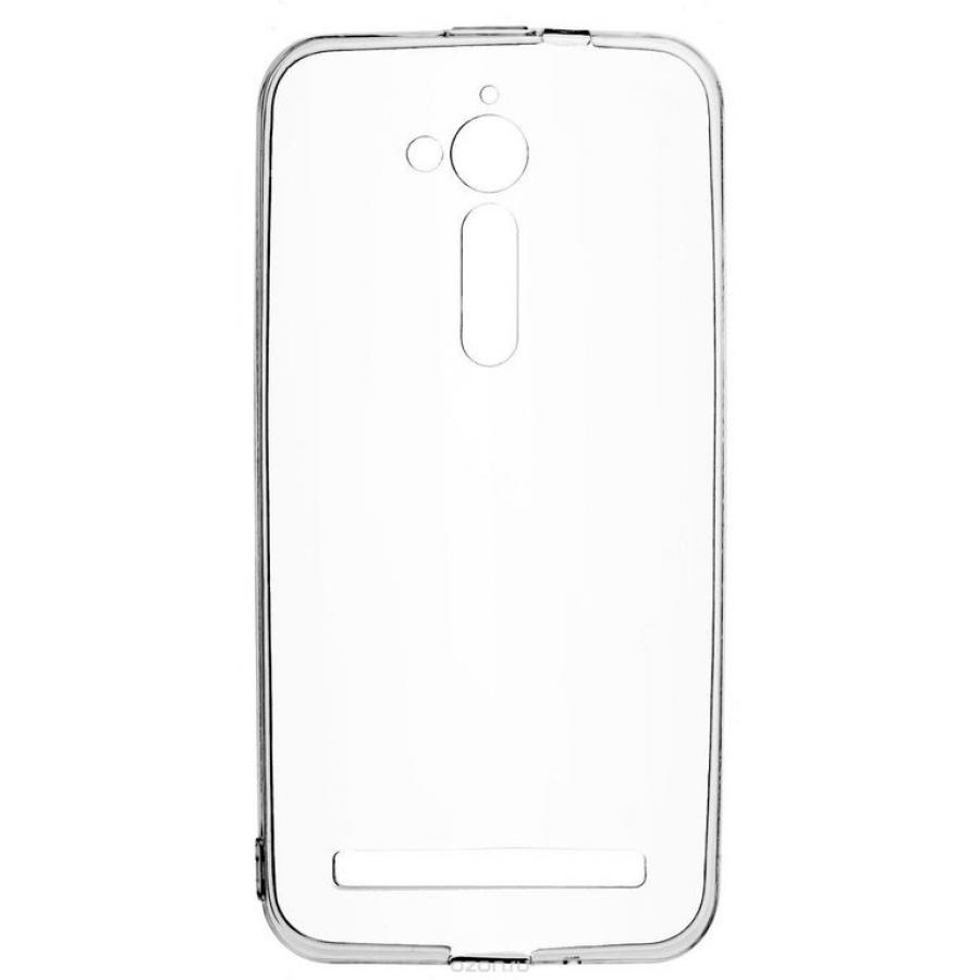 Накладка SkinBOX Slim silicone 4People для Asus ZenFone Go (ZB500KG) прозрачный