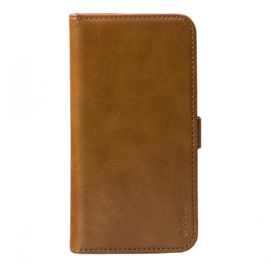 Чехол-книжка Devia Magic Leather Case 2 в 1 для iPhone X - Brown