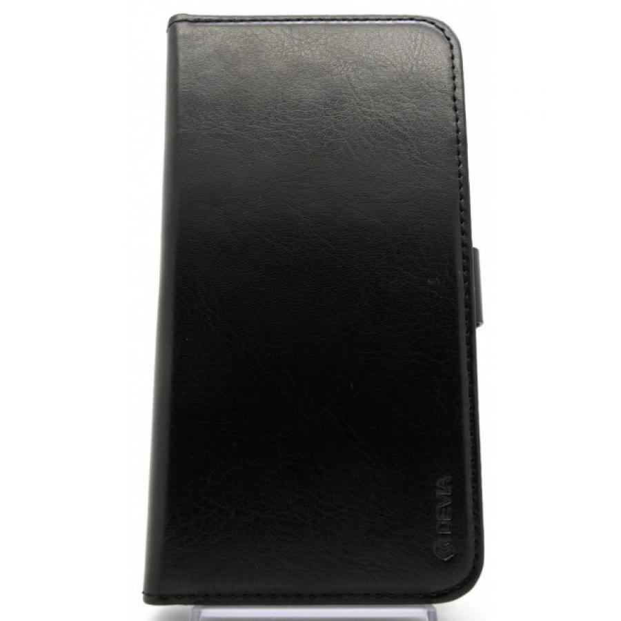 Чехол-книжка Devia Magic Leather Case 2 в 1 для iPhone X - Black