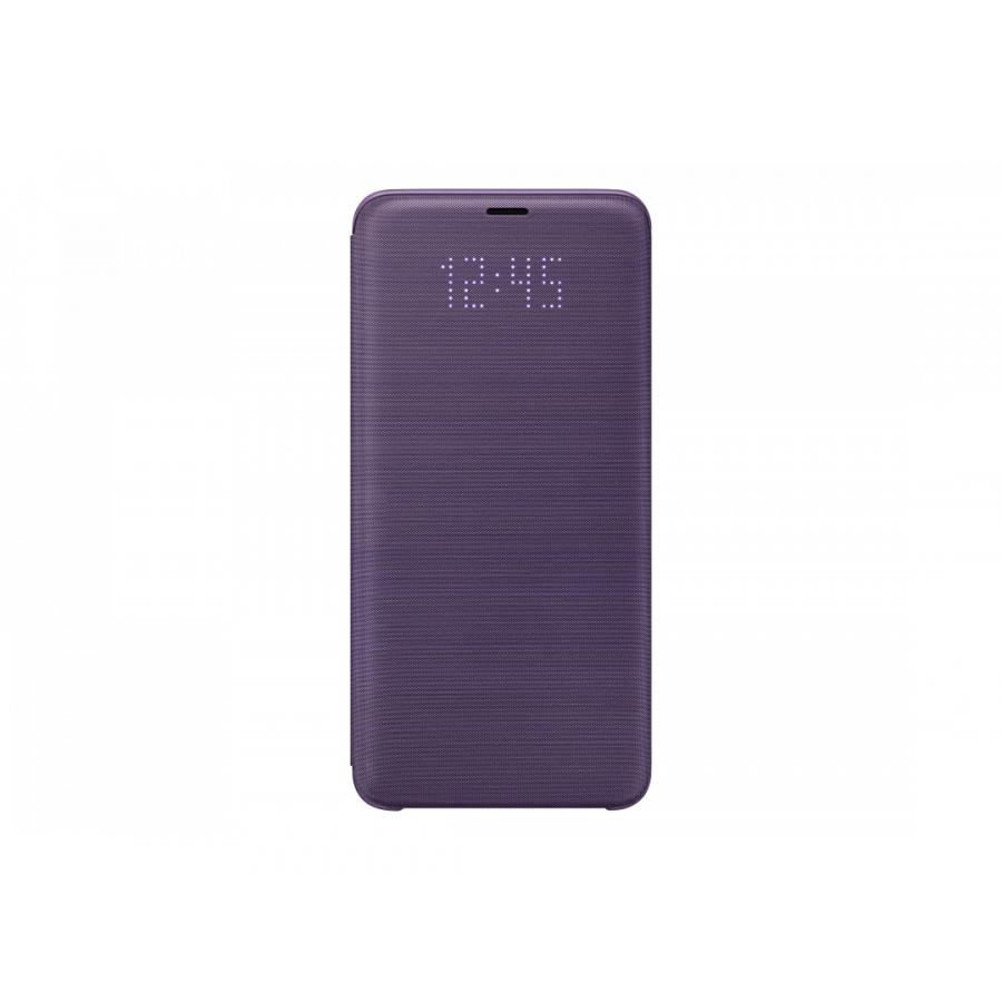 Чехол View Cover Samsung для Galaxy S9+ LED (G965) EF-NG965PVEGRU Violet чехол для сотового телефона samsung galaxy note 8 clear cover violet ef qn950cvegru