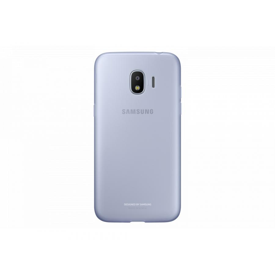 Чехол (клип-кейс) Samsung для Samsung Galaxy J2 (2018) Jelly Cover голубой (EF-AJ250TLEGRU) чехол клип кейс samsung jelly cover для samsung galaxy j2 2018 розовый [ef aj250tpegru]