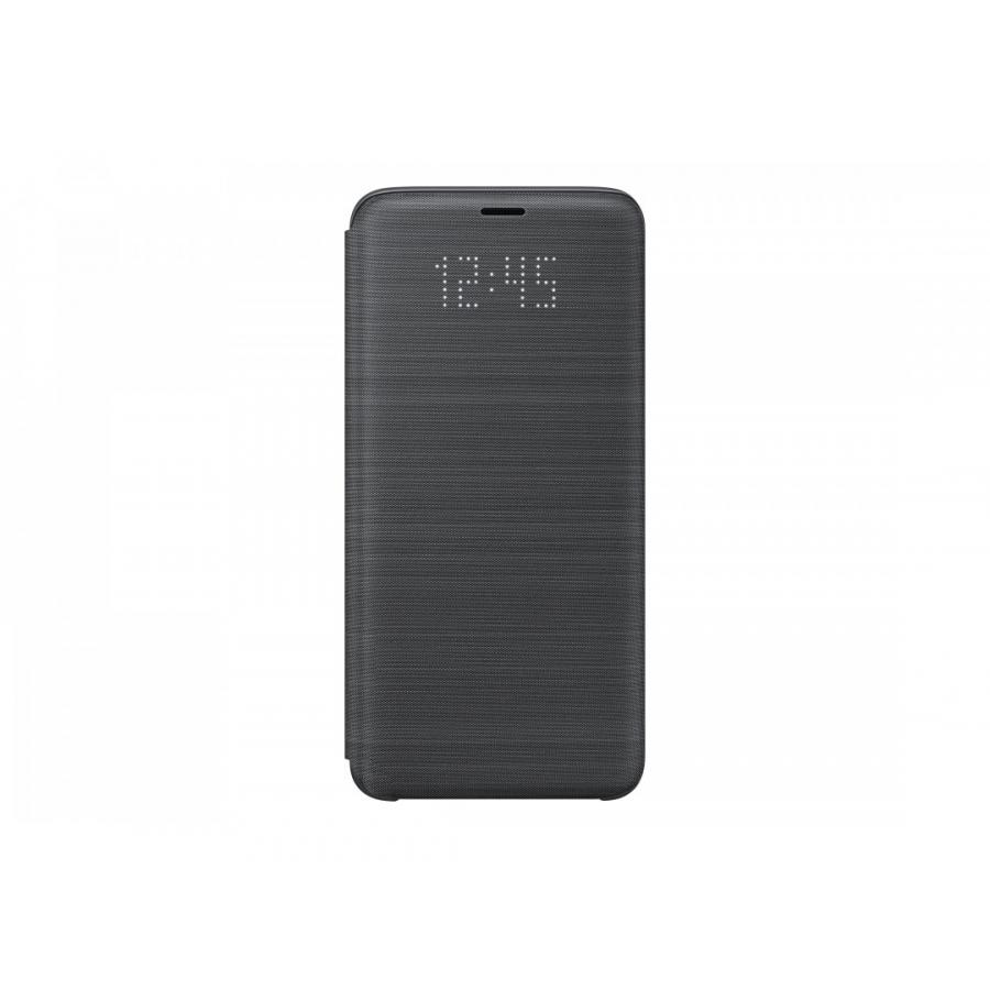 Чехол Samsung LED-View для Galaxy S9 (G960) EF-NG960PBEGRU Black аксессуар чехол книжка samsung galaxy s9 led view cover black ef ng960pbegru