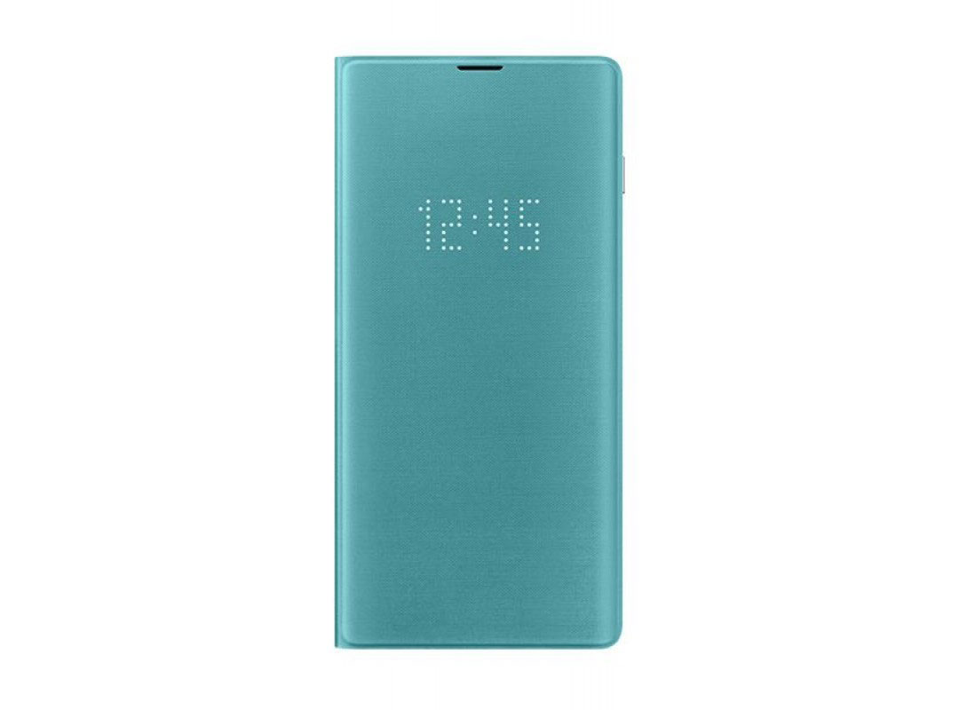 Чехол Samsung LED View Cover для Galaxy S10+ (G975) EF-NG975PGEGRU Green original view window flip pu leather case cover for uhappy up920