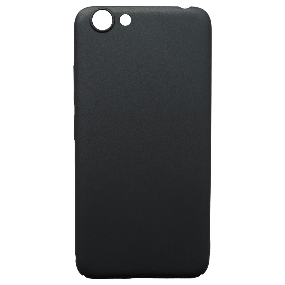 Чехол Vivo 1606 Y53 Case PC black чехол vivo 1719 y65 case tpu black