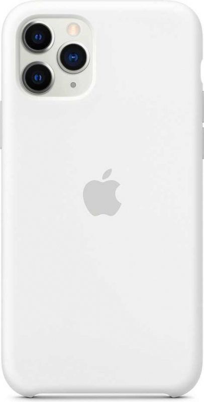 цена Чехол (клип-кейс) Apple для Apple iPhone 11 Pro Max Silicone Case белый (MWYX2ZM/A) онлайн в 2017 году