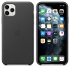 Чехол Apple iPhone 11 Pro Max Leather Case - Black