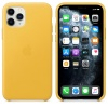 Чехол Apple iPhone 11 Pro Leather Case - Meyer Lemon (MWYA2ZM/A)