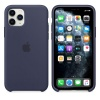 Чехол Apple iPhone 11 Pro Silicone Case - Midnight Blue (MWYJ2ZM...
