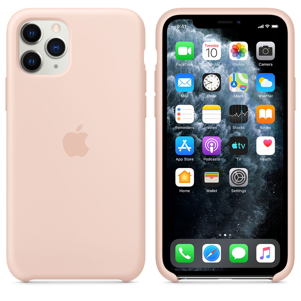 Купить Чехол Apple iPhone 11 Pro Silicone Case - Pink Sand (MWYM2ZM/A)