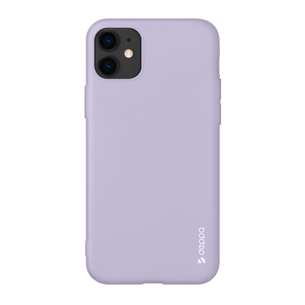 Чехол Deppa Gel Color Case для Apple iPhone 11 лавандовый картон 87244 фото