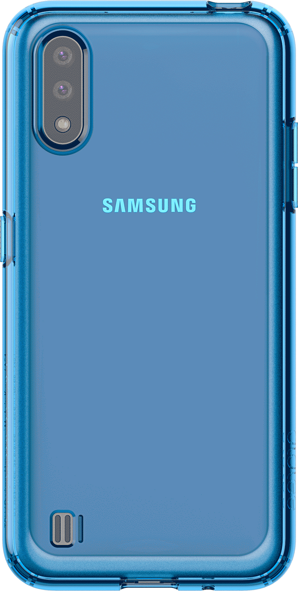 Чехол Araree A Cover GP-FPA015KDALR для Galaxy A01 синий
