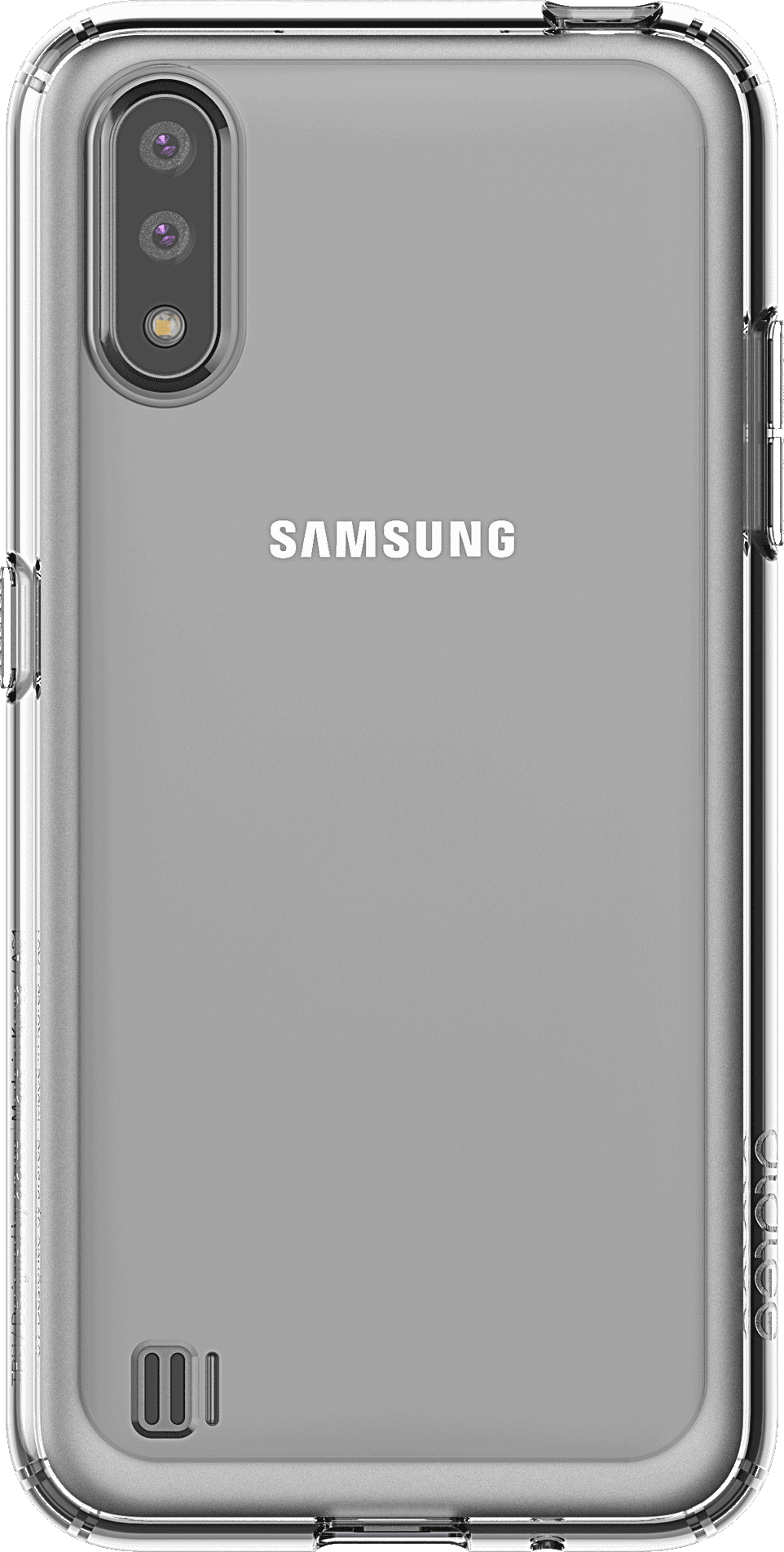 Чехол Araree A Cover GP-FPA015KDATR для Galaxy A01 прозрачный