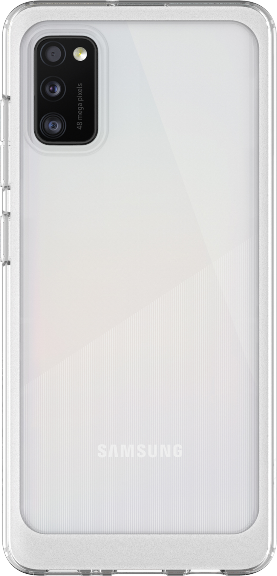 Чехол Samsung Galaxy A41 araree A cover прозрачный (GP-FPA415KDATR)
