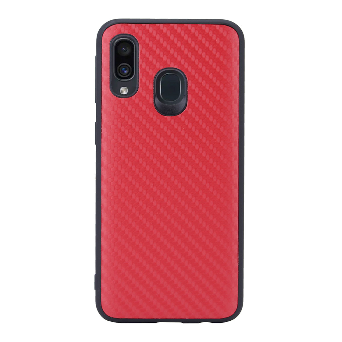 Чехол G-Case для Samsung Galaxy A40 SM-A405F Carbon Red GG-1107