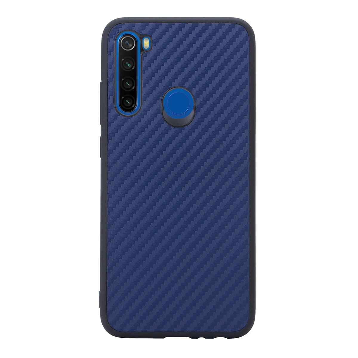 Чехол G-Case для Xiaomi Redmi Note 8 Carbon Dark Blue GG-1169