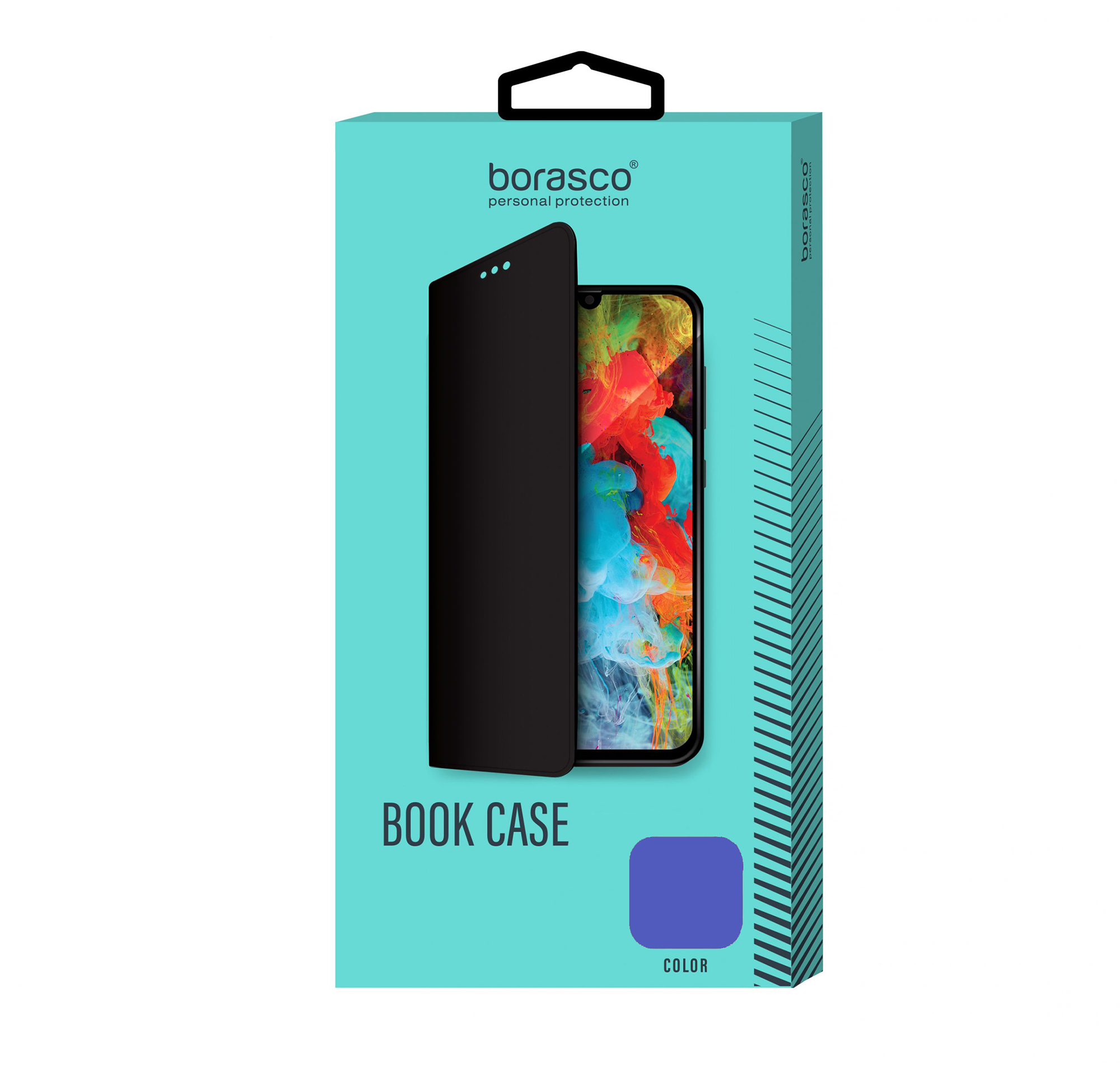 Купить Чехол BoraSCO Book Case для Huawei Y5 Prime/Lite (2018)/ Honor 7A Prime/7A/7S синий