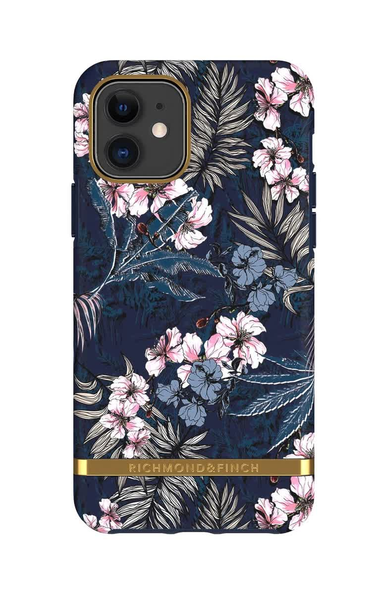 Чехол-накладка Richmond & Finch Floral Jungle для Apple iPhone 11 синий paul finch shadows
