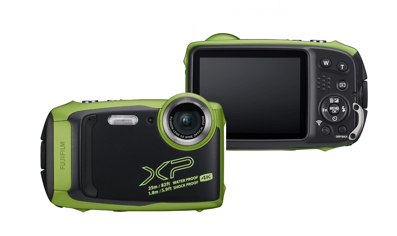 Цифровой фотоаппарат Fujifilm FinePix XP140 Lime фотоаппарат fujifilm finepix xp140 dark silver