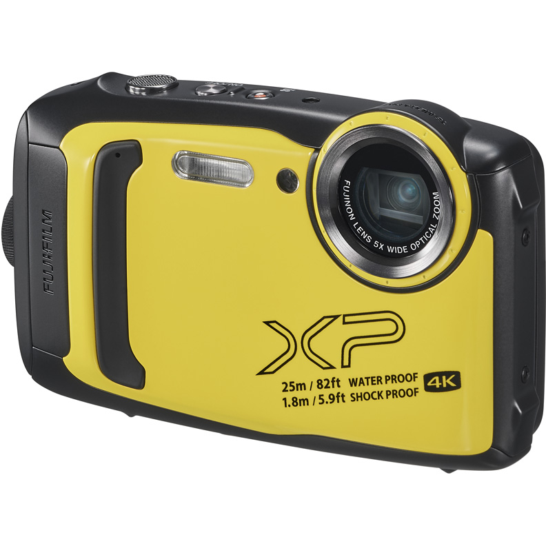 Цифровой фотоаппарат Fujifilm FinePix XP140 Yellow фотоаппарат fujifilm finepix xp140 dark silver