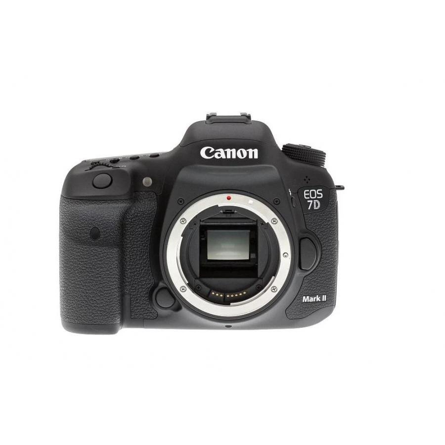 Фотоаппарат зеркальный Canon EOS 7D Mark II Body + Wi-Fi адаптер W-E1 viltrox mc c3 1 2 lcd digital timer remote control for canon 7d 50d 1d d60 black 2 x aaa