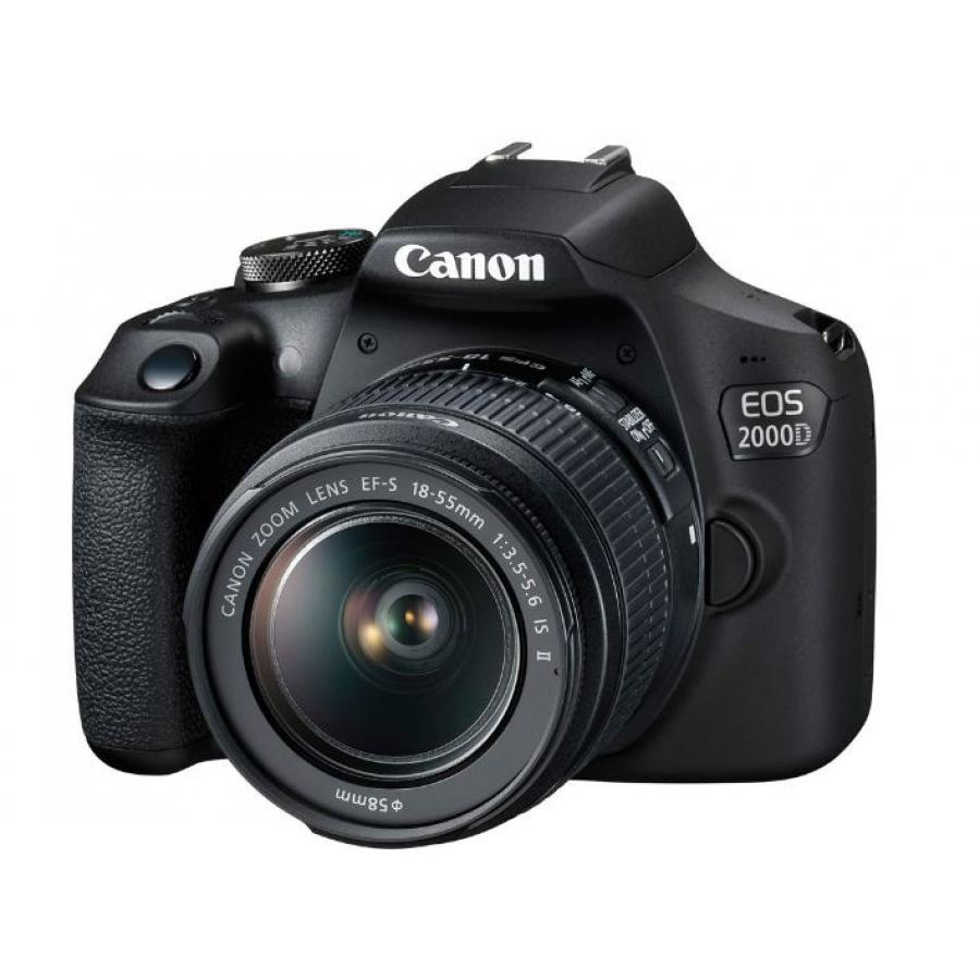 Фотоаппарат зеркальный Canon EOS 2000D Kit 18-55 IS