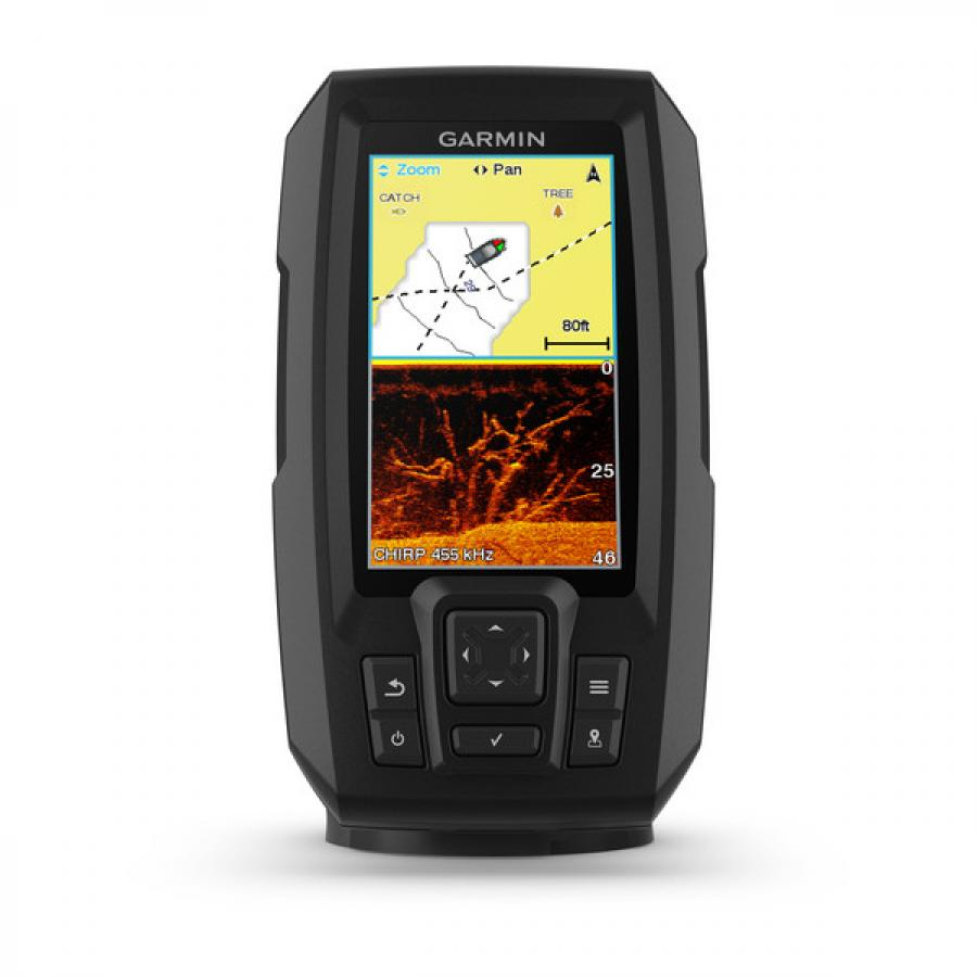 Эхолот Garmin Striker Plus 4cv эхолот garmin echomap 42dv chirp с датчиком