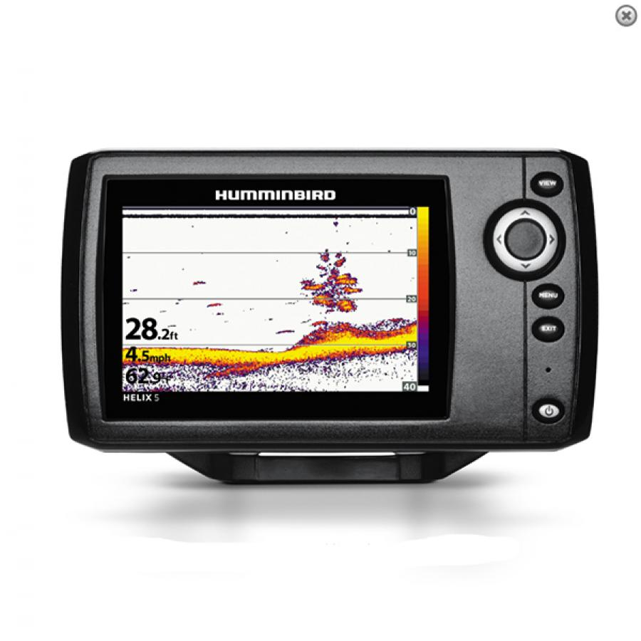 Эхолот Humminbird HELIX 5 SONAR (G2) humminbird 688ci hd xd internal gps sonar combo xtreme depth fishfinder