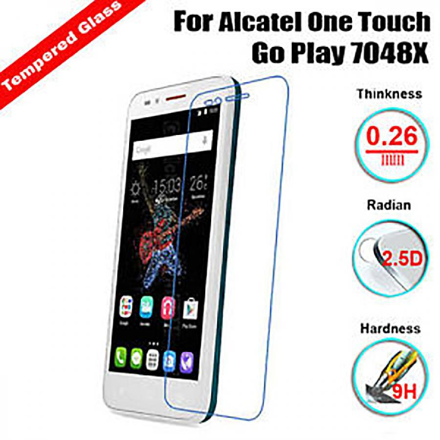 Защитное стекло VSP Flex для Alcatel One Touch Go Play 7048x аксессуар чехол alcatel onetouch go play 7048x armor black 9727