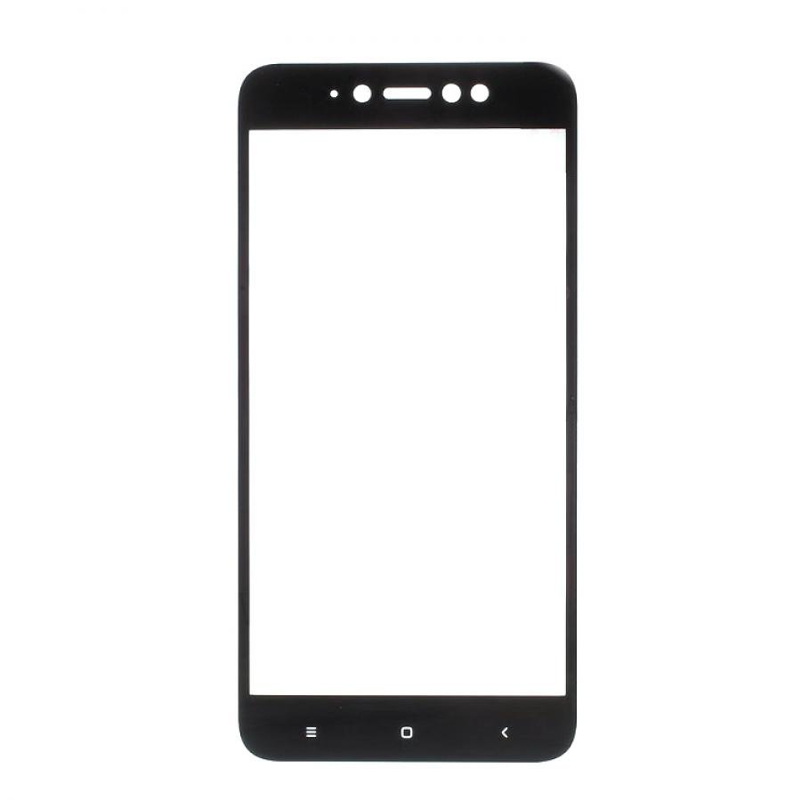 Защитное стекло Dismac Silk Screen Glass для Xiaomi Redmi Note 5A Black for lenovo zuk z2 lcd screen display with touch screen digitizer panel glass assembly black white replacement parts free shipping
