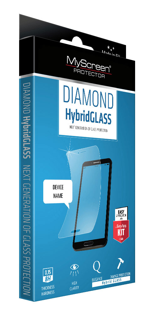 Защитное стекло DIAMOND HybridGLASS EA Kit iPhone 6/6S Plus