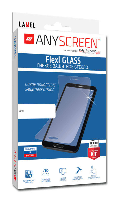 Защитное стекло ANYSCREEN Flexi GLASS для Samsung Galaxy Tab Active 2 8.0 SM-T395