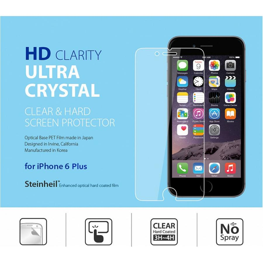 Защитная пленка SGP LCD Film Ultra Crystal для iPhone 6 Plus. SGP10874 велосипед stels challenger v 2016