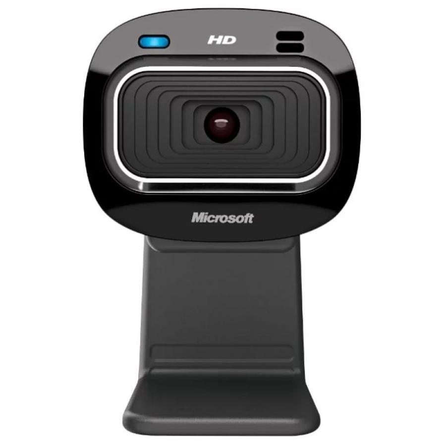 Веб-камера Microsoft LifeCam HD-3000 черный (1280x800) USB2.0 с микрофоном камера web microsoft lifecam hd 3000