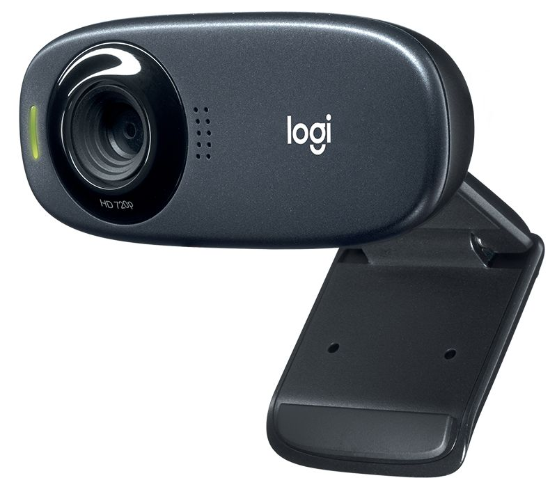 Веб-камера Logitech HD Webcam C310 черный