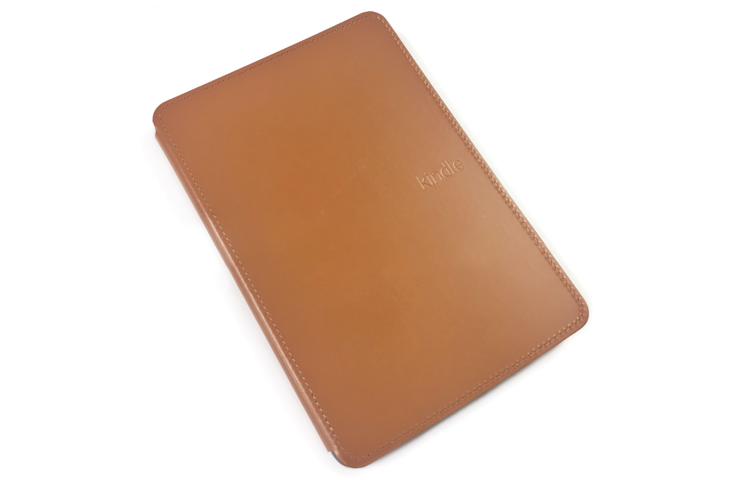 Чехол Amazon Kindle Touch Lighted Leather Cover Saddle Tan