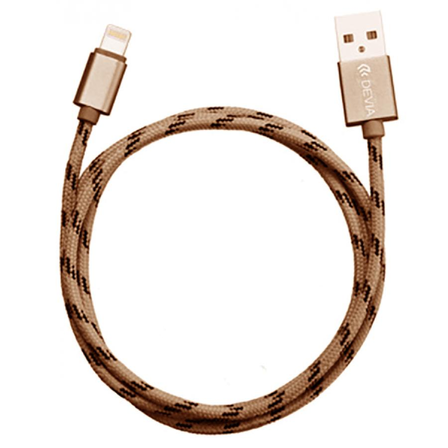 Кабель Devia Fashion Lightning Cable - Rose