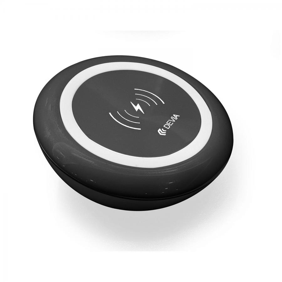 СЗУ Devia Non-pole Wireless Fast Charger - Black
