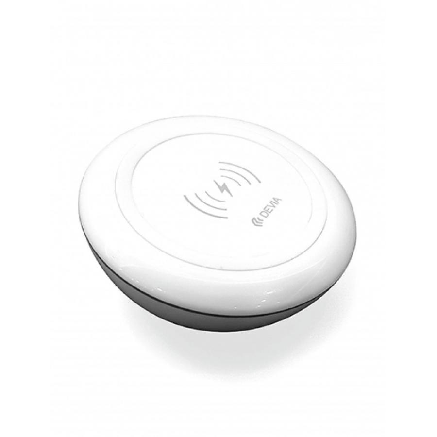 СЗУ Devia Non-pole Wireless Fast Charger - White