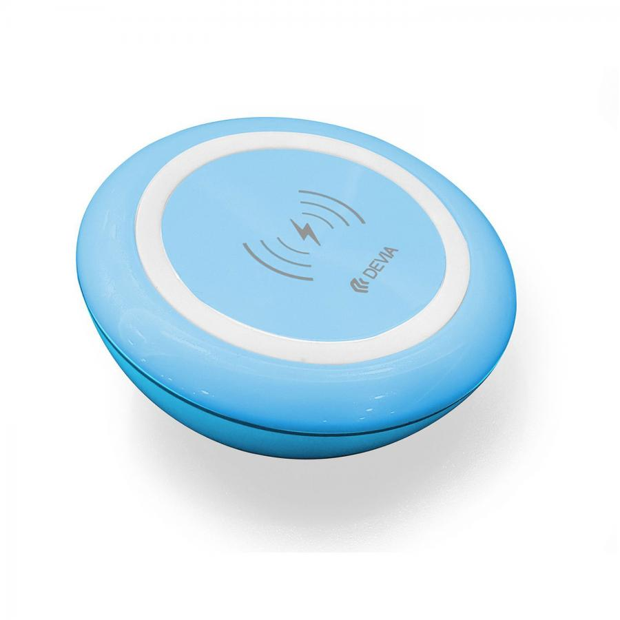 СЗУ Devia Non-pole Wireless Fast Charger - Blue