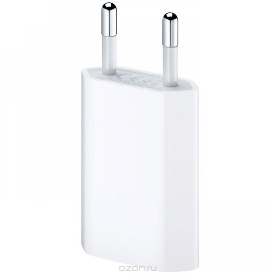 Сетевое зарядное устройство Apple MD813ZM/A White ac power charger adapter for iphone white grey us plug 100 240v
