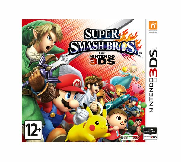 Игра Super Smash Bros. 3DS (Nintendo) футболка wearcraft premium slim fit printio мади