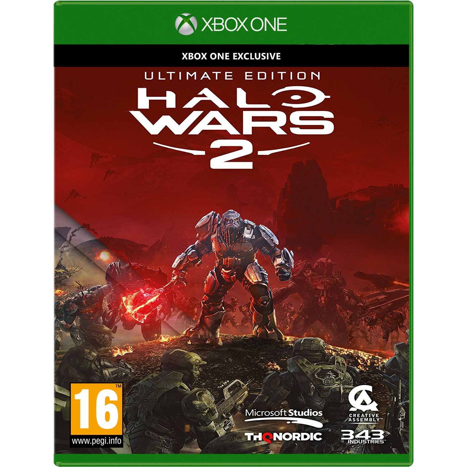 Игра Halo Wars 2 Ultimate Edition (Xbox One) sleeping dogs definitive edition игра для ps4