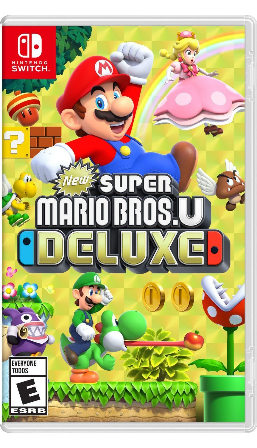 Игра New Super Mario Bros U Deluxe (Nintendo Switch) цены онлайн