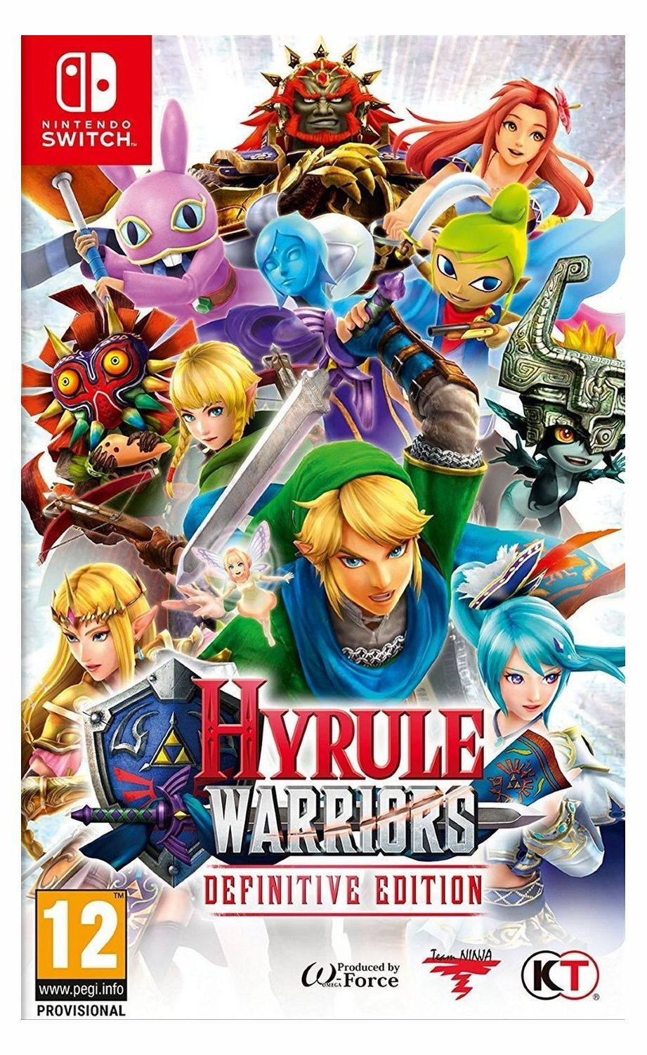 Игра Hyrule Warriors: Definitive Edition (Nintendo Switch) видеоигра для ps4 hitman definitive edition