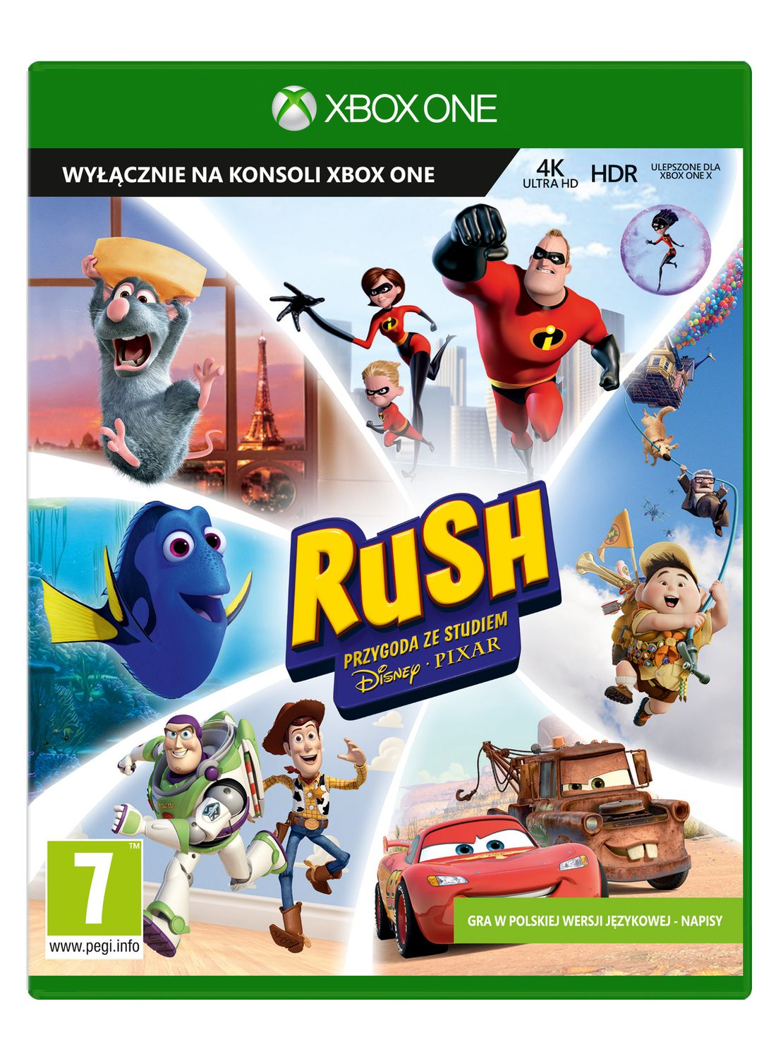 Игра Pixar Rush Definitive Edition (Xbox One) видеоигра для ps4 hitman definitive edition