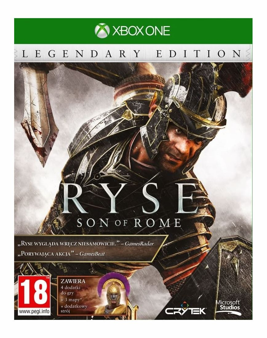 Игра Ryse: Son of Rome Legendary Edition (Xbox One)